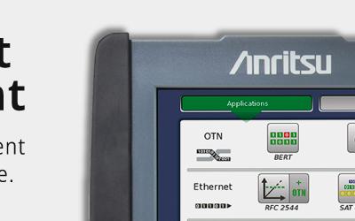 Ampliamos el stock de equipos de demo en venta de Anritsu