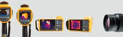 Amplía tu equipamiento con una cámara Termográfica Fluke y una lente para infrarrojos gratuita